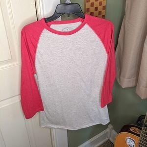 American Eagle Baseball Long Sleeve T-Shirt SizeXS